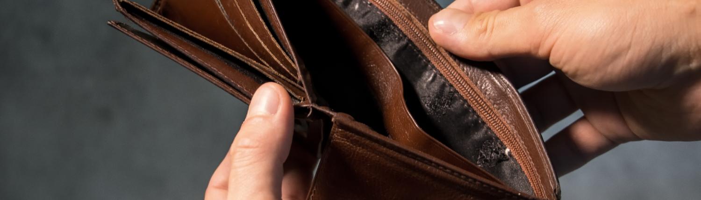 """Portafoglio vuoto - Gestire l'obiezione """"Non ho soldi"""""""